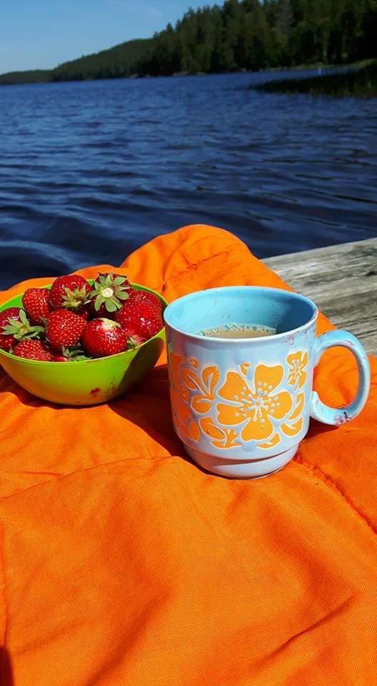 Aamuinen kahvihetki - Sepänniemi