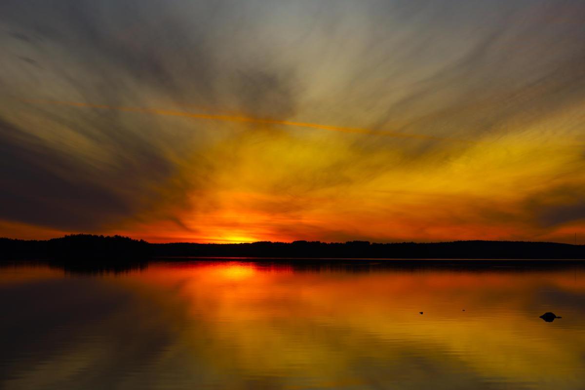 Auringonlasku 3 - Matoniemi