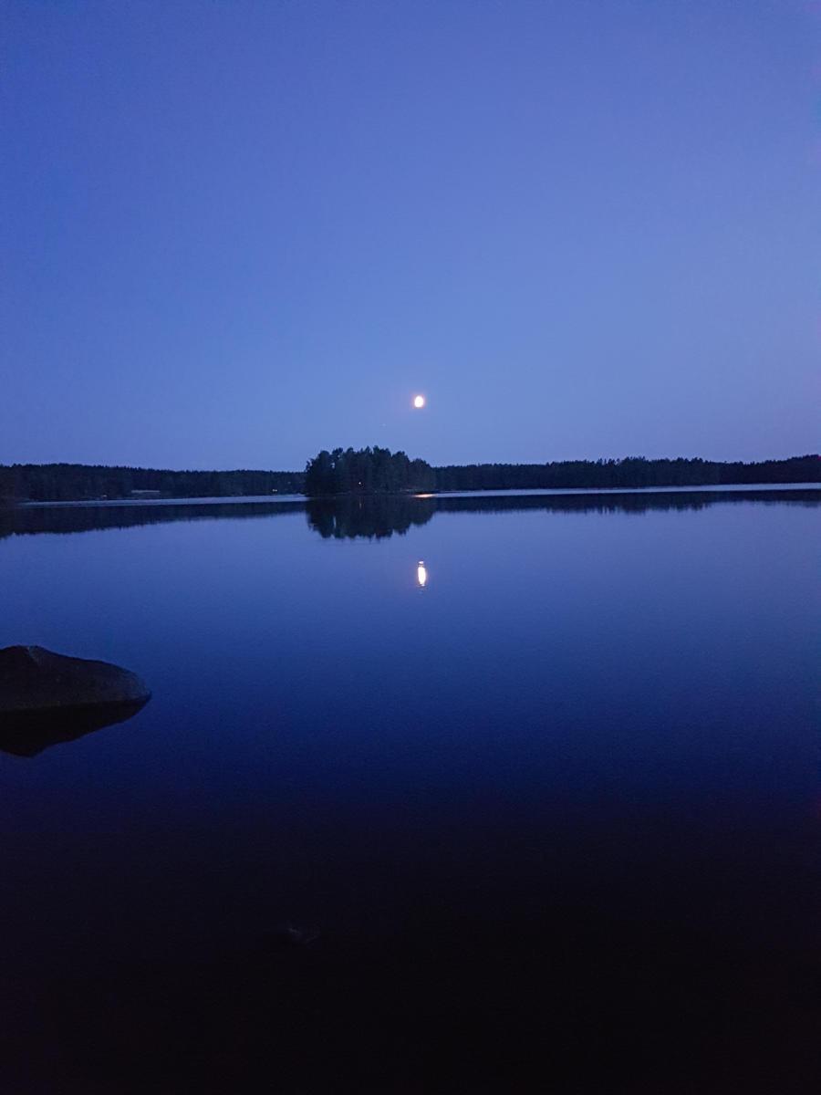 Sininen hetki 9.8.2019 - Käenniemi